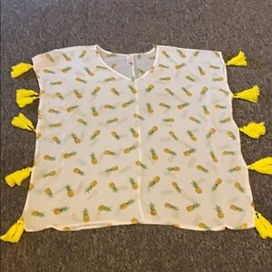 Pineapple cover up from target